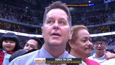 Photo of WATCH: Tim Cone speaks after championship victory!