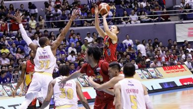 Photo of San Miguel gets even, scores lopsided win to avenge blowout loss in Game 1