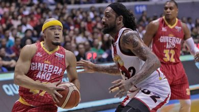 Photo of Mark Caguioa's veteran presence makes a difference in Game 1