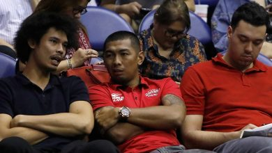 Photo of Japeth Aguilar out 10 days due to calf injury