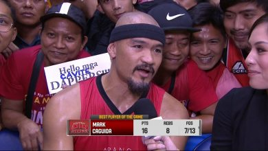 Photo of WATCH: Best Player of the Game interview with Mark Caguioa
