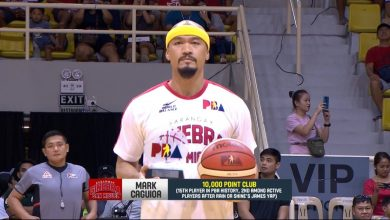 Photo of WATCH: PBA honors Mark Caguioa's entry into the prestigious 10,000-point club