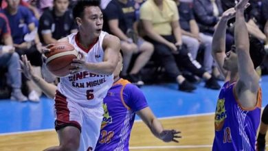Photo of Brgy. Ginebra secures top seed, eliminates TNT via 112-93 win