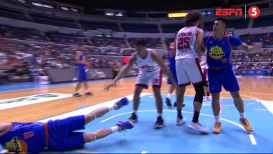 Photo of WATCH: Double Technical called on Japeth Aguilar and Jericho Cruz for second motion!
