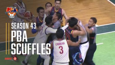 Photo of WATCH: PBA Season 43 Scuffles