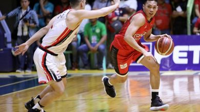 Photo of Scottie Thompson stars in Digos as Brgy. Ginebra pummels Blackwater 85-67