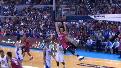 Photo of WATCH: Japeth Aguilar with the steal and the exclamation SLAM!