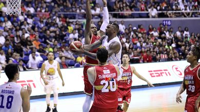 Photo of Terrence Jones says LA Tenorio punched him in the stomach and got away with it