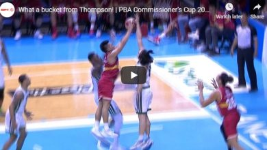 Photo of WATCH: Scottie Thompson with a magical shot!