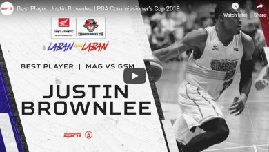 Photo of WATCH: Justin Brownlee Highlights [Brgy. Ginebra vs Magnolia | July 7, 2019]