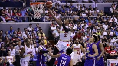 """Photo of Justin Brownlee on facing another SMC team in the quarterfinals: """"It's not good news"""""""