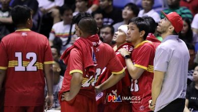 Photo of 'Lefty trio' still unavailable for Brgy. Ginebra in the quarterfinal round