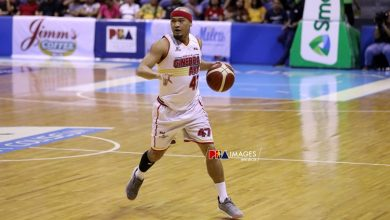 Photo of Tim Cone says Mark Caguioa will play a vital role for Brgy. Ginebra in the playoffs