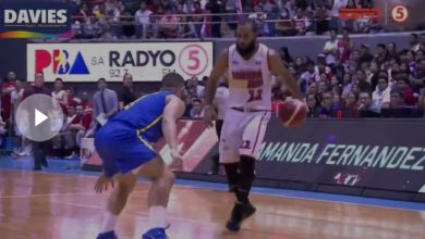 Photo of WATCH: Stanley Pringle drops Brian Heruela with an ankle-breaker!