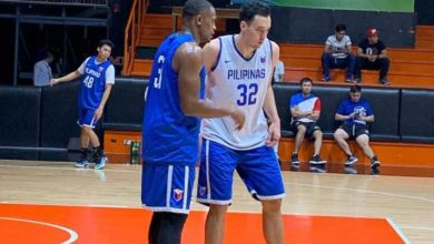 """Photo of Brownlee on wearing a Gilas Pilipinas jersey: """"Hopefully, I can sport it in a real game one day"""""""