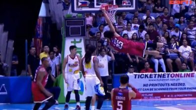 Photo of WATCH: Japeth with 2 emphatic SLAMS in the 2nd quarter!