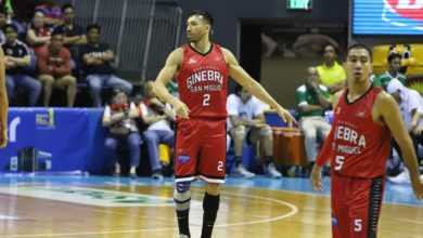 Photo of Jared Dillinger happy to finally see action for Brgy. Ginebra just in time for the playoffs