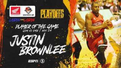 Photo of WATCH: Justin Brownlee Highlights & BPG Interview [November 24, 2019]