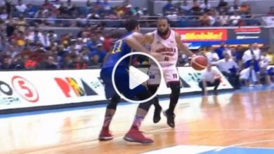 Photo of WATCH: #StanTheMan gives Brgy. Ginebra back the lead with a slick move over McDaniels!
