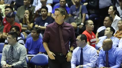 Photo of Tim Cone to pay 'big fine' for coming in late during game against Columbian