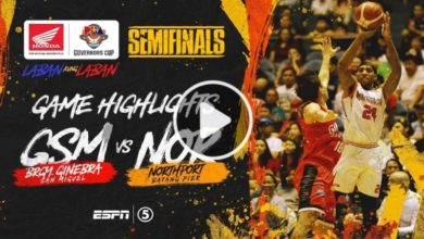 Photo of WATCH: Brgy. Ginebra vs NorthPort Highlights [SF Game 2 | December 16, 2019]