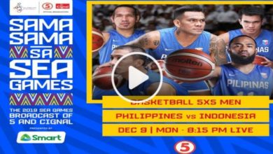 Photo of WATCH: Gilas Pilipinas vs Indonesia Full Game [30th SEA Games | December 9, 2019]