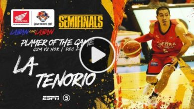 Photo of WATCH: LA Tenorio Highlights & BPG Interview [December 20, 2019]