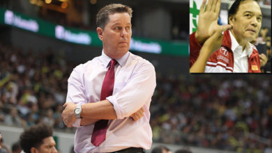 Photo of Tim Cone on the verge of duplicating Robert Jaworski's record with Brgy. Ginebra