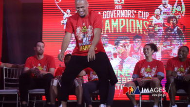 Photo of LOOK: Brgy. Ginebra Championship Party!
