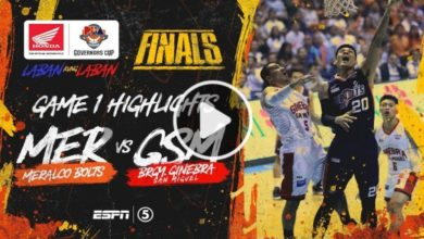 Photo of WATCH: Brgy. Ginebra vs Meralco Highlights [Finals Game 1 | January 7, 2020]