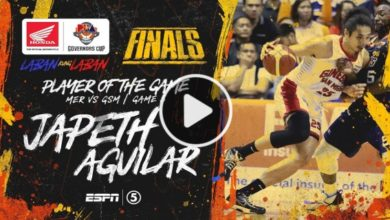 Photo of WATCH: Japeth Aguilar Highlights & BPG Interview [Finals Game 3 | January 12, 2020]