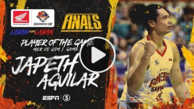 Photo of WATCH: Japeth Aguilar Highlights & BPG Interview [Finals Game 1 | January 7, 2020]