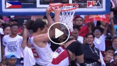 Photo of WATCH: Japeth with two emphatic throwdowns!
