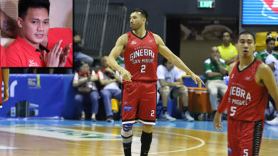 Photo of Jared Dillinger will be Brgy. Ginebra's advantage in the Finals, says Scottie Thompson