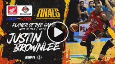 Photo of WATCH: Justin Brownlee Highlights & BPG Interview [Finals Game 4 | January 15, 2020]