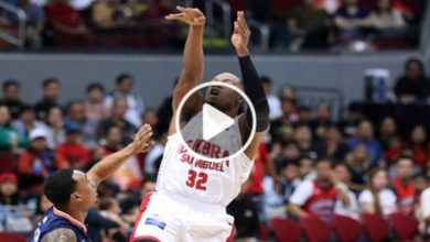 Photo of WATCH: Crowd erupts as LA, Joe and Justin trigger Brgy. Ginebra's 3rd quarter surge!