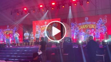 Photo of WATCH:  Brgy. Ginebra San Miguel Governors' Cup Championship Party!