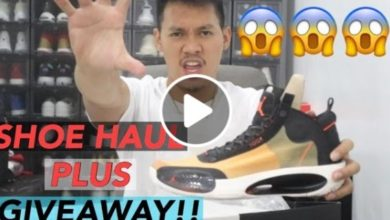 Photo of WATCH: Shoe haul plus giveaway!!! #Vlog No. 3