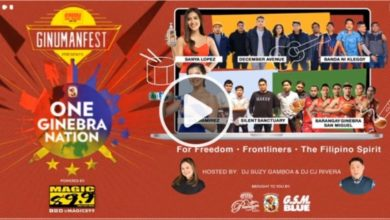 Photo of WATCH: One Ginebra Nation Live Online Concert!