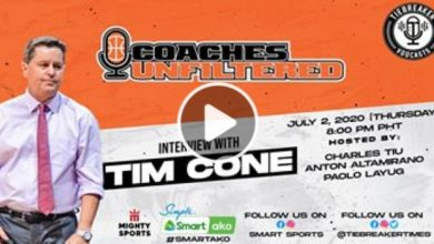Photo of WATCH: Tim Cone on Coaches Unfiltered!