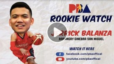 Photo of WATCH: PBA Rookie Watch – Jerrick Balanza