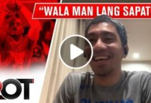 "Photo of WATCH: ""Langya 'to wala man lang rubber shoes!"""