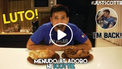 Photo of WATCH: Menudo at Adobo ni Scottie!