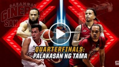 Photo of WATCH: Brgy. Ginebra vs San Miguel [QF | 2019 Governors' Cup | November 24, 2019]