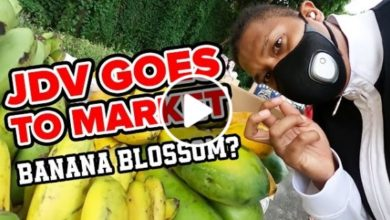 Photo of WATCH: JDV goes to Market! Banana Blossom?