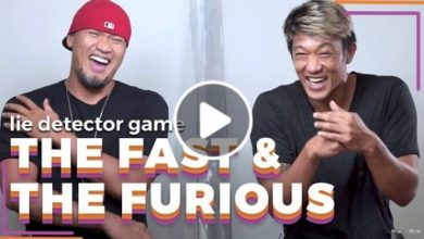 Photo of WATCH: 'The Fast' and 'The Furious' play a lie detector drinking game!