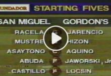 Photo of WATCH: Gordon's Gin vs San Miguel [1997 All-Filipino Cup | February 24, 1997]
