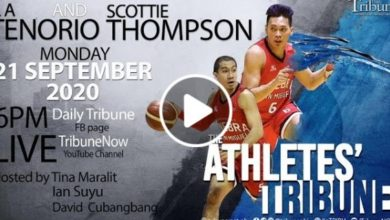 Photo of WATCH: LA Tenorio and Scottie Thompson on The Athlete's Tribune!