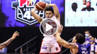 Photo of WATCH: Scottie rejects Kiefer Ravena then converts an acrobatic shot!