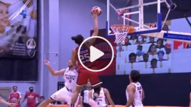 Photo of WATCH: Bastos JAM by Japeth Aguilar! May kasama pang foul!